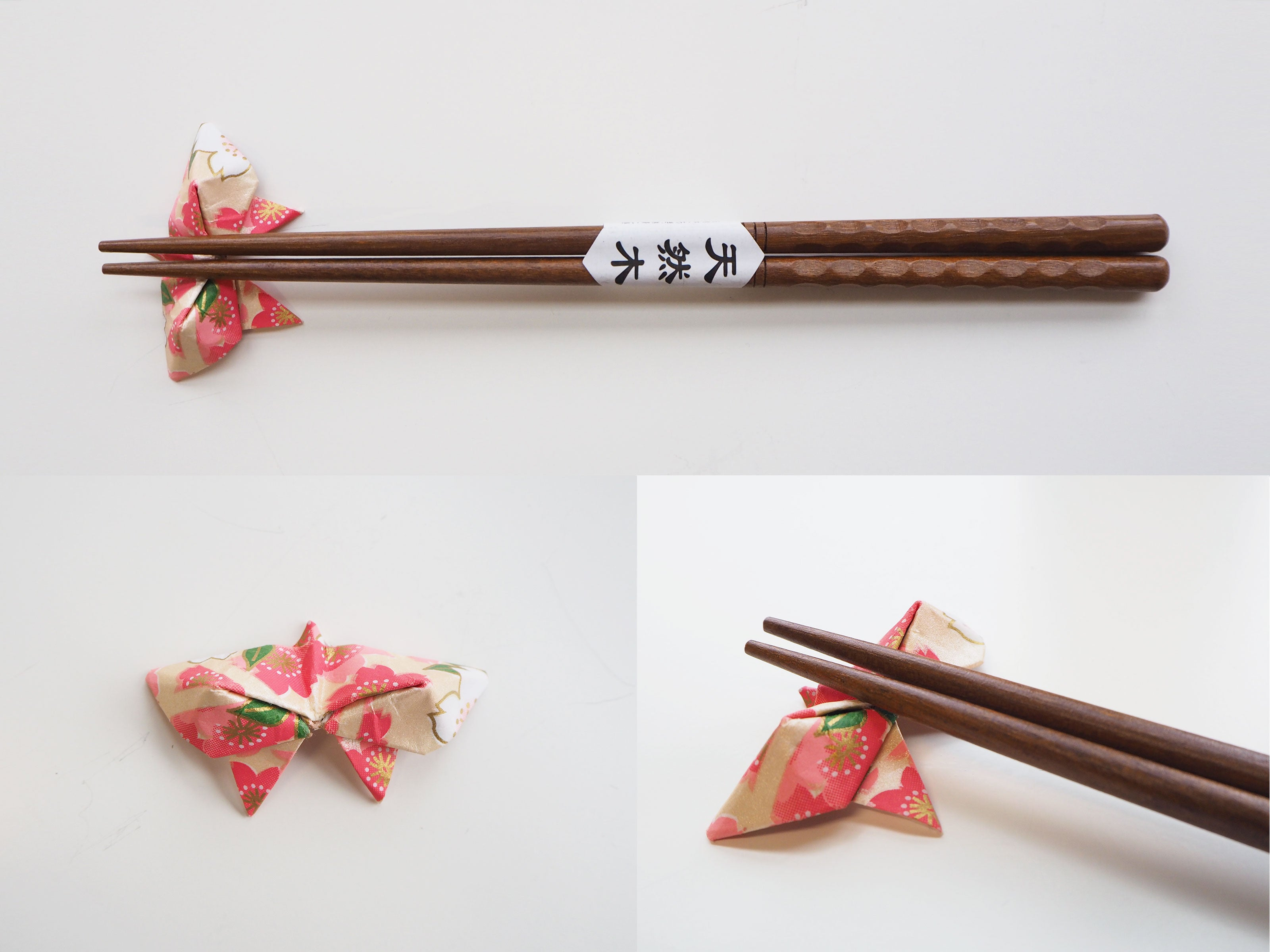 Origami Butterfly Chopstick Holder