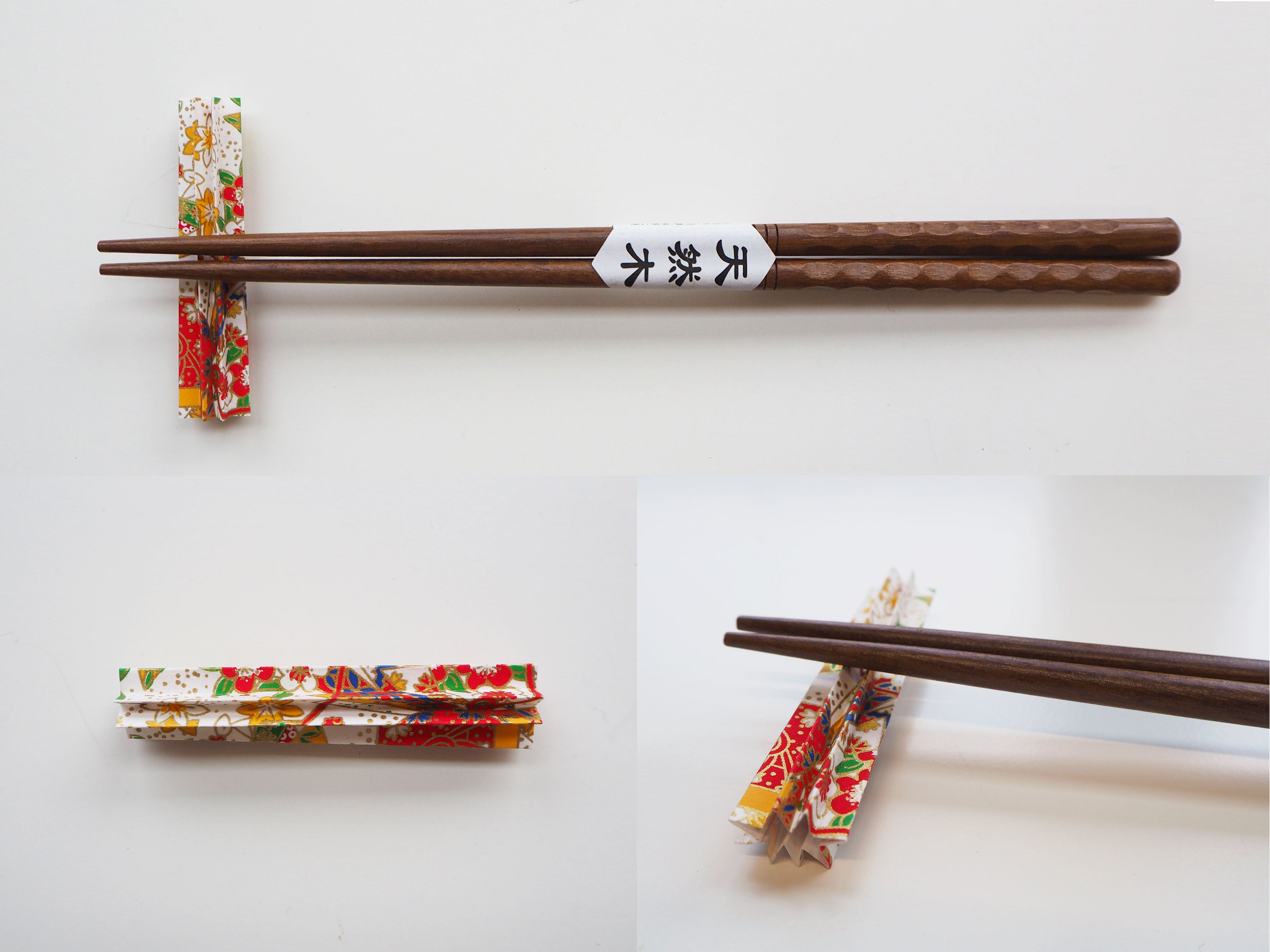 Origami Star Chopstick Holder