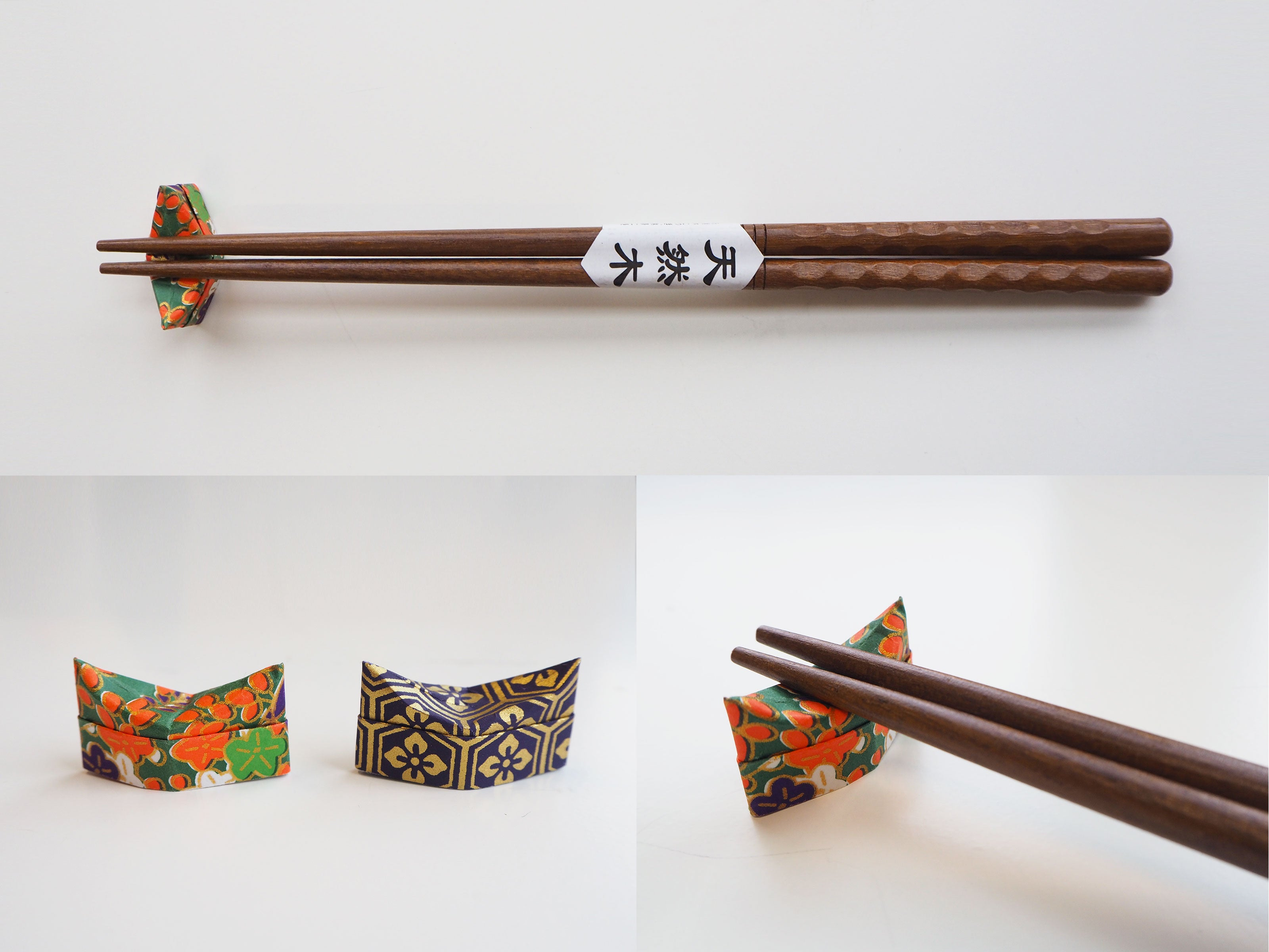 Origami Traditional Pillow Chopstick Holder
