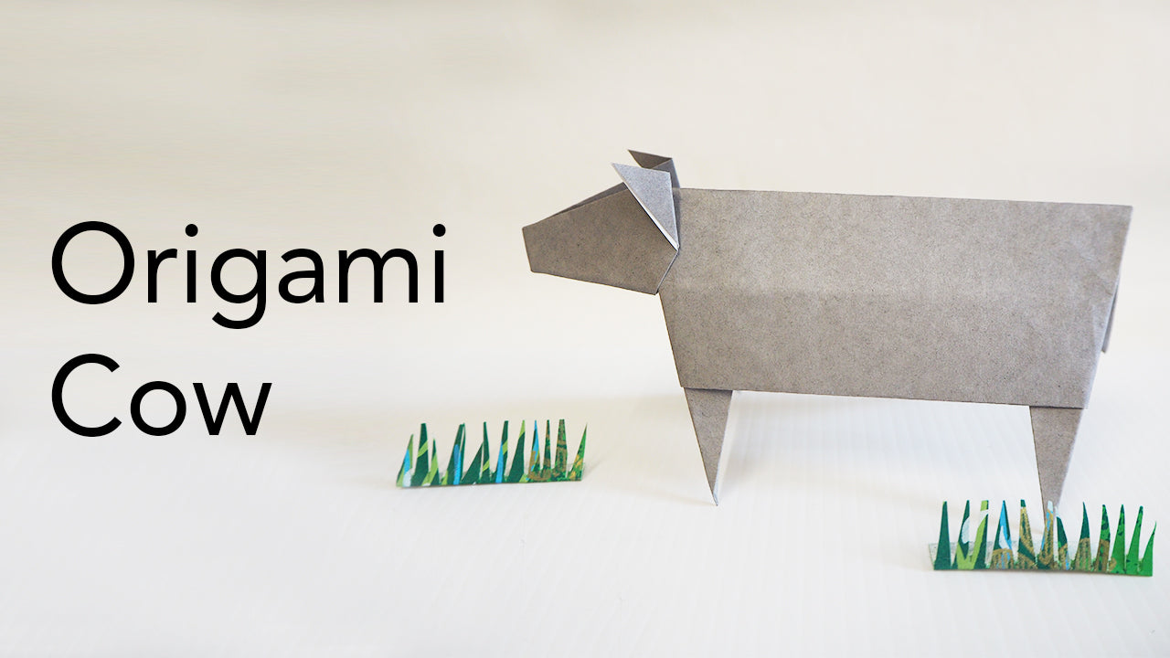 Tutorial for Origami Cow