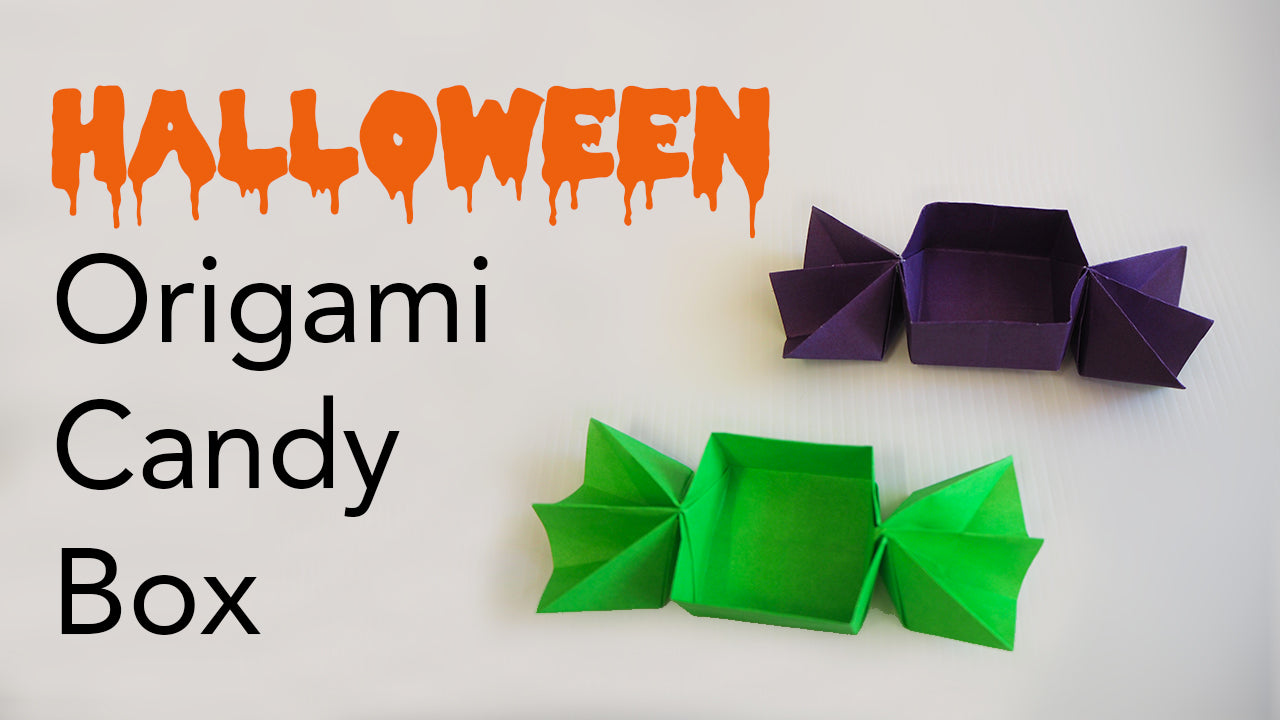 Origami Halloween Candy Sweet Box Tutorial