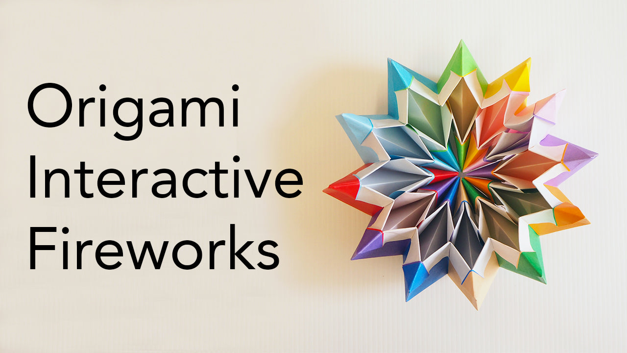 Tutorial for Origami Fireworks