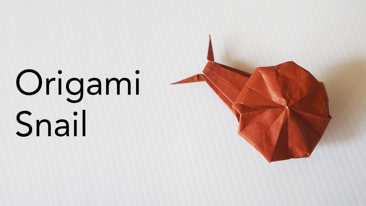 Tutorial for Origami Snail