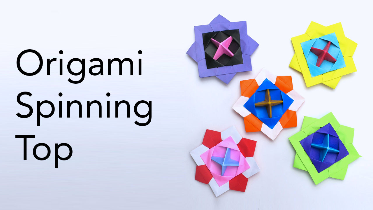 Tutorial for Origami Spinning Top