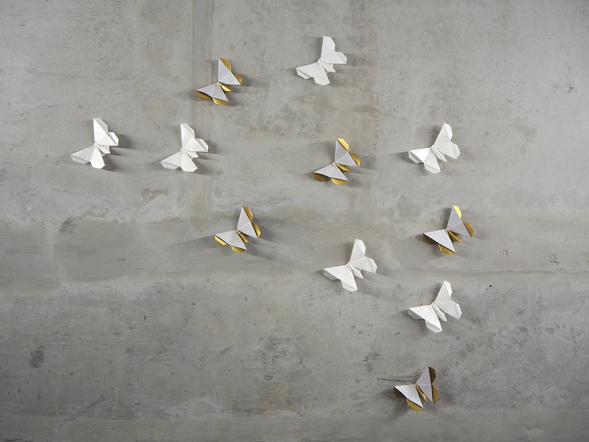 Origami Butterfly Wall Decoration