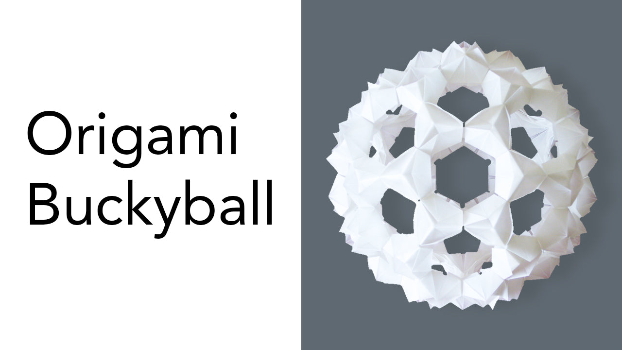 Tutorial for Origami Buckyball