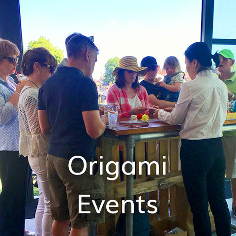 Origami Event in London