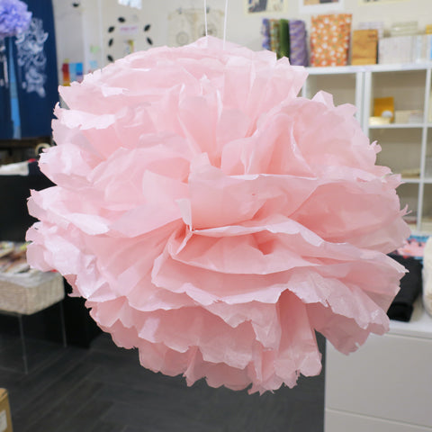 DIY Tissue Paper Pom Pom decoration