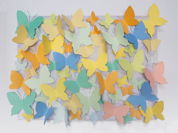 Paper Butterflies Wedding Backdrop