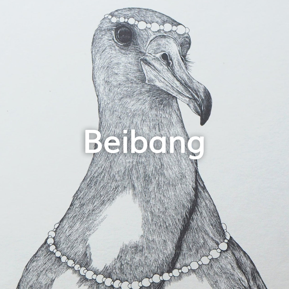 Chinese artist Beibang sketchbooks, postcards and poster prints collection