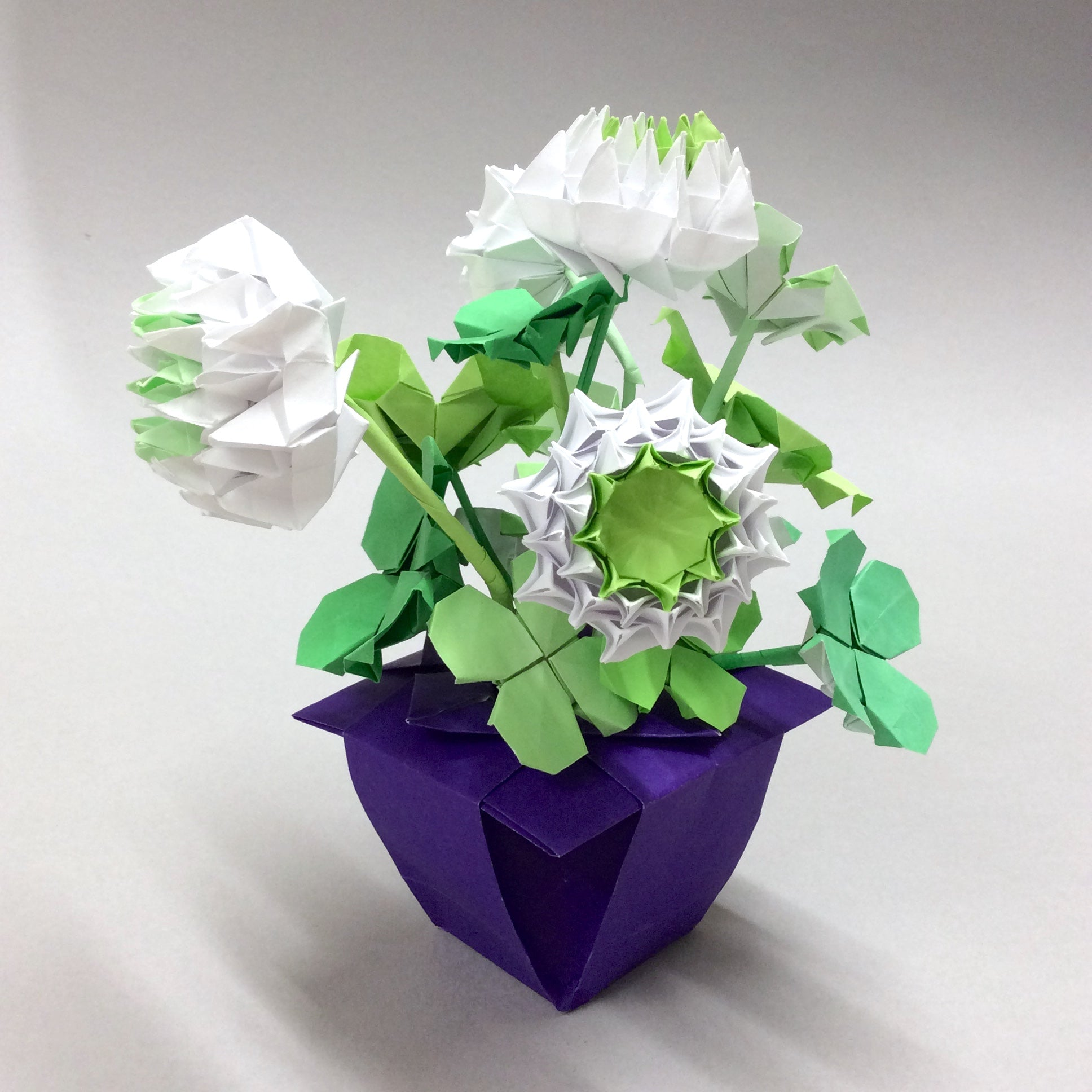 Origami Flower Bouquet Paper Flowers