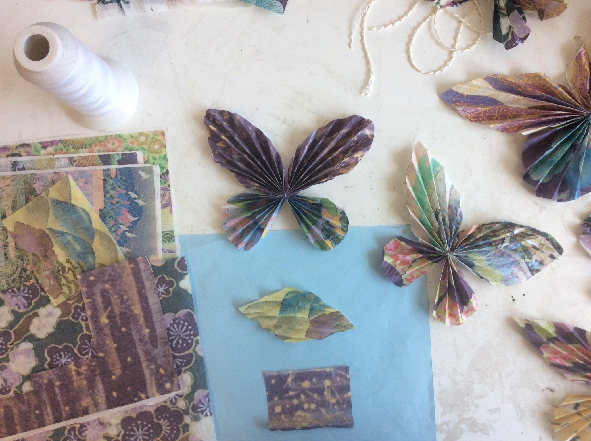 Custom Origami Paper Craft Butterfly Mobile Decoration London