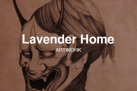 Lavender Home Artwork