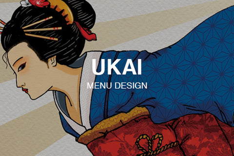 Takeaway Menu for Ukai Japanese Restaurant