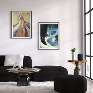 Guardian Spirits Collection Original Art Print - Bì Fāng - Print - Lavender Home London