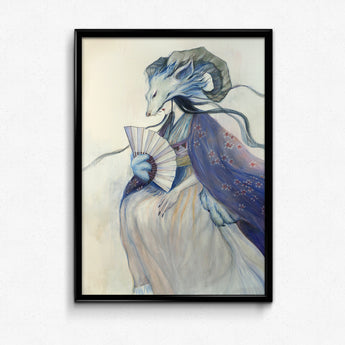 Guardian Spirits Collection Original Art Print - Bái Zé