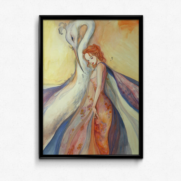Guardian Spirits Collection Original Art Print - Bì Fāng