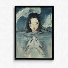 Guardian Spirits Collection Original Art Print - Nine Tailed Fox