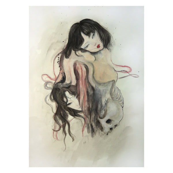 Guardian Spirits Collection Original Art Print - The Painted Skin - Print - Lavender Home London