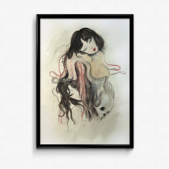 Guardian Spirits Collection Original Art Print - Painted Skin