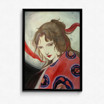 Guardian Spirits Collection Original Art Print - Princess Kaguya