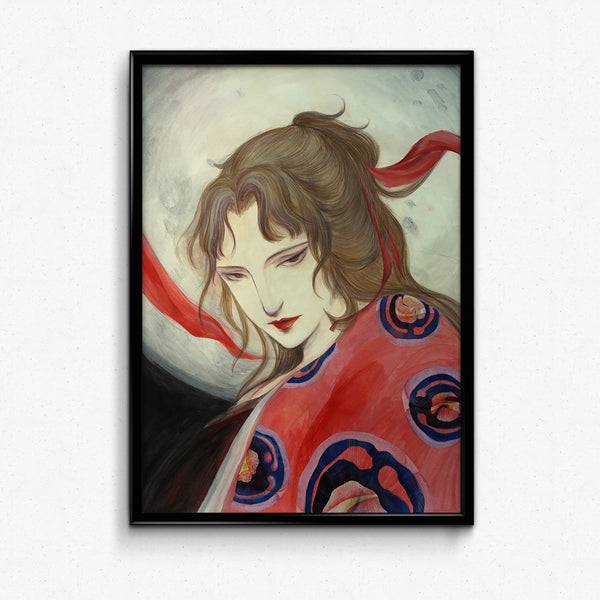 Japanese Folklore Art - Princess KaguyaModern Japanese Folklore Art - Princess Kaguya