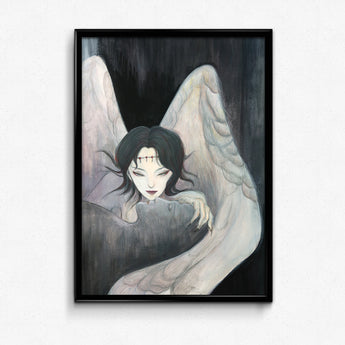Guardian Spirits Collection Original Art Print - Qiong Qi