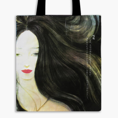 Guardian Spirits Tote Bag - Snow Woman