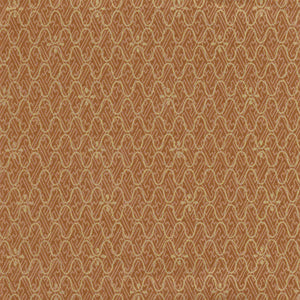 Yuzen Washi Wrapping Paper HZ-069 - Sayagata & Fishing Net Brown Gold