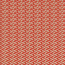 Yuzen Washi Wrapping Paper - Red & White Sayagata
