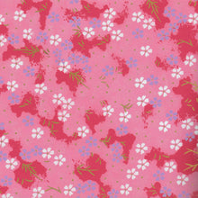 Yuzen Washi Wrapping Paper HZ-180 - Small Cherry Blossom Pink Shades - washi paper - Lavender Home London