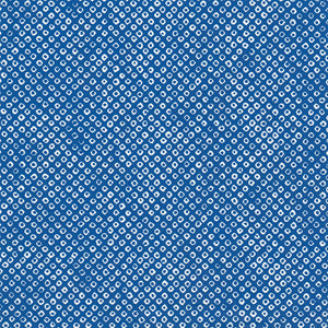 Yuzen Washi Wrapping Paper HZ-352 - Deer's Spots Blue