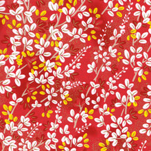 Yuzen Washi Wrapping Paper HZ-361 - Lespedeza Red - washi paper - Lavender Home London