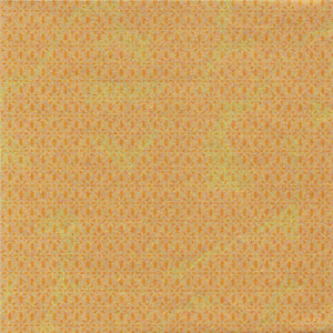 Pack of 20 Sheets 14x14cm Yuzen Washi Origami Paper HZ-474 - Gold Diamond Flower - washi paper - Lavender Home London