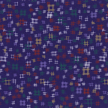 Yuzen Washi Wrapping Paper HZ-507 - Igetakasuri Blue - washi paper - Lavender Home London