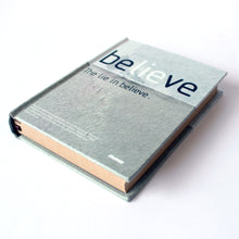 Hard Cover Notebook Believe