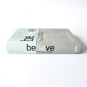 Hard Cover Notebook - Believe - Lavender Home London