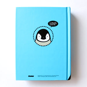Hard Cover Notebook - Penguin - Lavender Home London