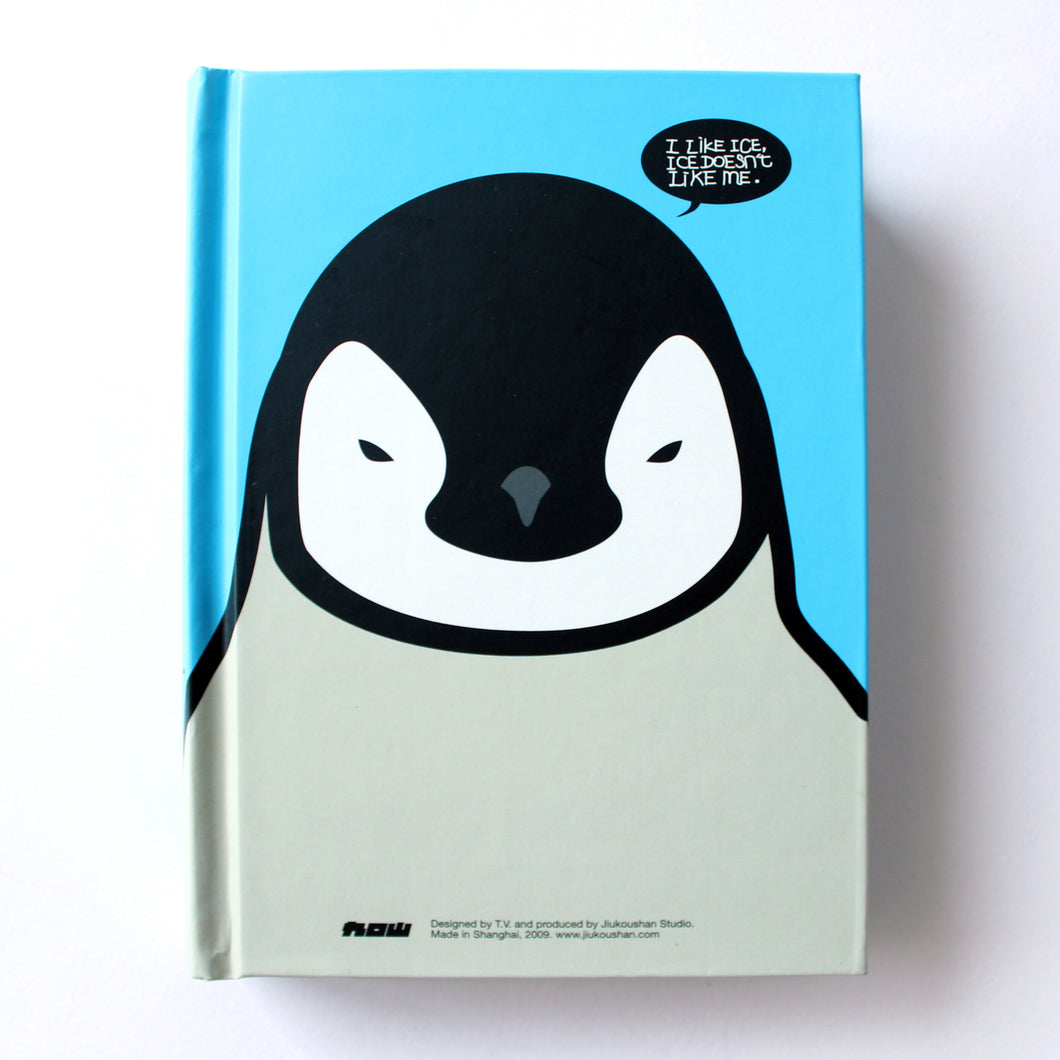 Classic Hardcover Notebook - Penguin - Brown Paper - Stationery - Lavender Home London