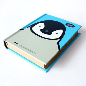 Hard Cover Notebook Penguin ice