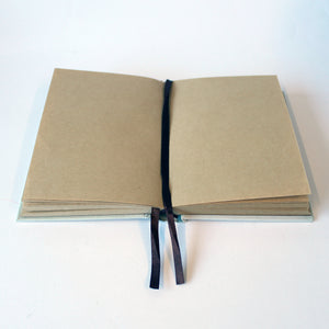 Classic Hardcover Notebook - King - Brown Paper