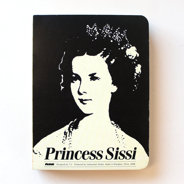 Soft Binding Brown Paper Notebook - Princess Sissi