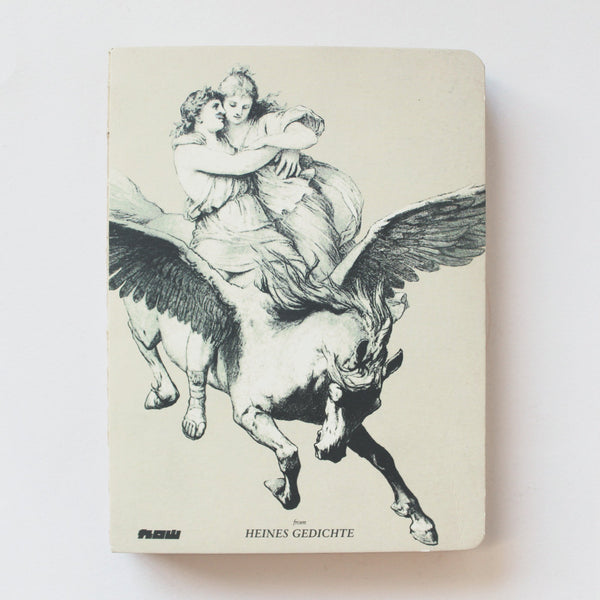 Soft Binding Brown Paper Notebook - Heines Gedichte Pegasus