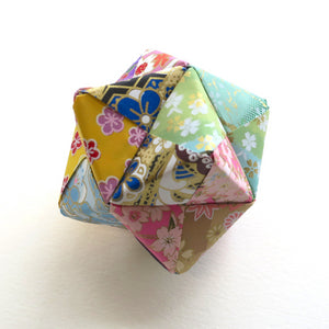 Lavender Filled Origami Sonobe - Origami Decorations - Lavender Home London