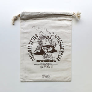 Samurai Warrior Drawstring Cloth Bag