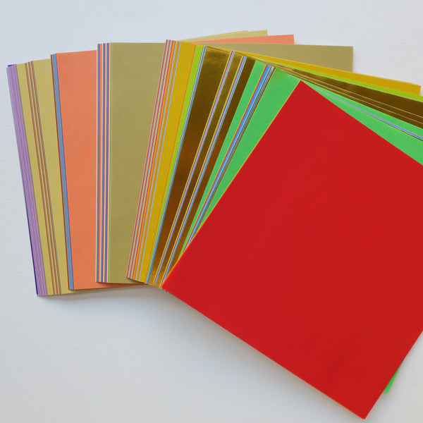 220 Sheets Toyo Education Multicoloured Origami Paper Pack 15x15cm