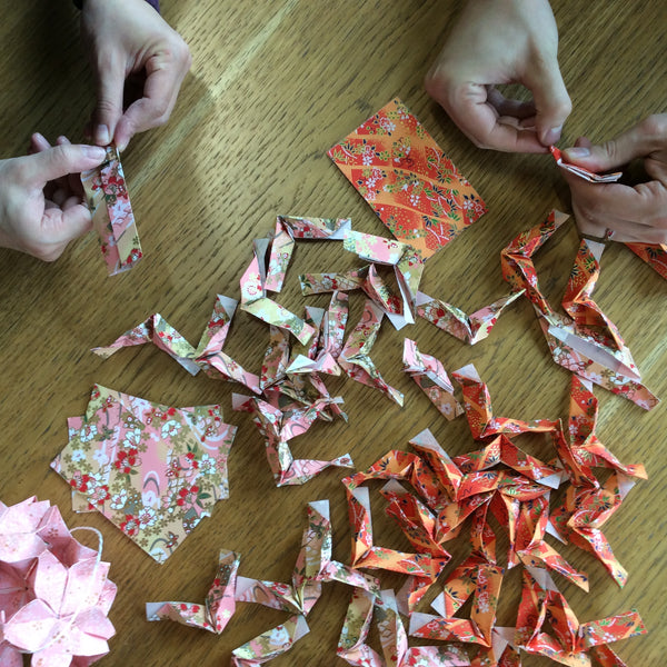 Private Weekend Origami Workshop & Classes in London - Workshop - Lavender Home London