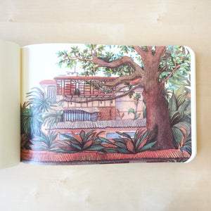 Lush Guilin Sketchbook - Longsheng Rice Terrace - Stationery - Lavender Home London