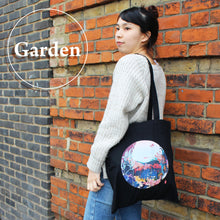 Art Print Cotton Tote Bag - London GARDEN 03 - Lavender Home London