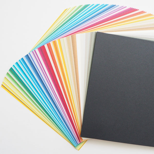 100 Sheets Multicoloured Toyo Tant Origami Paper Pack 15x15cm